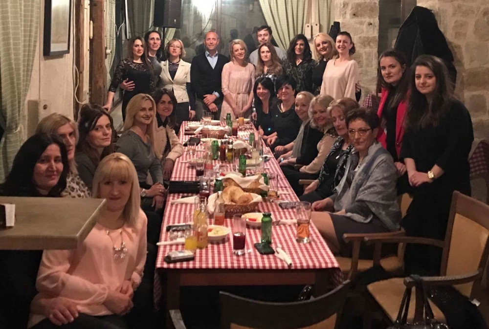 Tosçelik Nikšić Women's Day Celebration